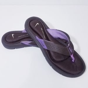 Nike Comfort Footbed Thong Sandals Womens Size 9 B